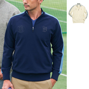 [cecile] Dry, Lightweight, Knit Half Zip / New Arrival Spring 2020, Mens, Large Sizes