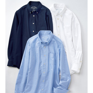 [Cecile] 100% Cotton Oxford Shirt (Long-Sleeved) / New Arrival Spring 2020, Mens, Large Sizes