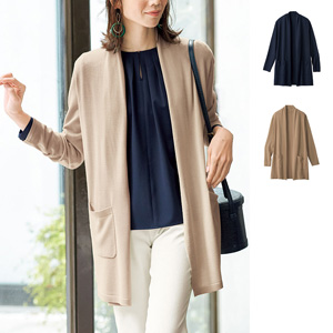 [cecile] Tencel™ Fiber, Silk Blend Knit Cardigan / New Arrival Spring 2020, Mrs
