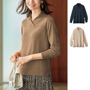[cecile] Tencel™ Fiber, Silk Blend Knit Pullover / New Arrival Spring 2020, Mrs
