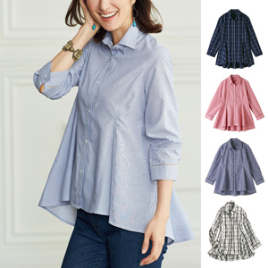 [cecile]  UV Care Flare Shirt / New Arrival Spring 2020, Mrs