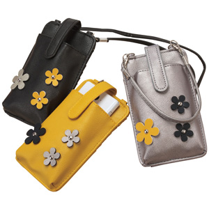 [cecile] Floral Motif Mobile Case With Wallet Function / New Arrival Spring 2020, Ladies