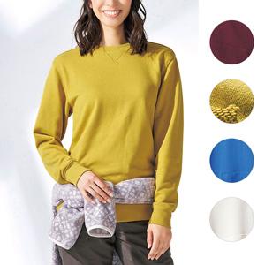 [cecile] Fleece Sweatshirt / New Arrival Spring 2020, Ladies
