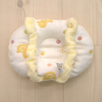Think-B Nursing Pillow, 6-Layer Gauze, Chick Pattern [Made In Japan] [Home Goods]