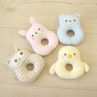 Think-B Educational Toy, Rattle, Loose Twisted Pile, Animals [Made In Japan] [Home Goods]