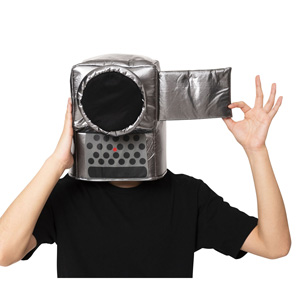Kaburi-mon Video Camera Headgear / Cosplay Goods, Costume