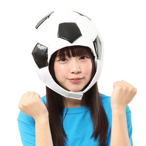 Kaburi-mon Soccer Football Headgear / Cosplay Goods, Costume