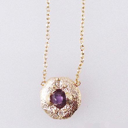 Kilburn 誕生石項鍊 2月 紫水晶日本製