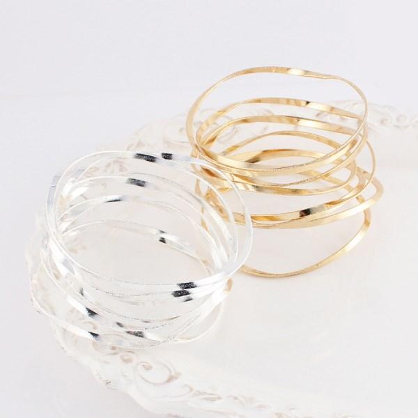 MAYGLOBE Veil 金屬渦卷狀手環