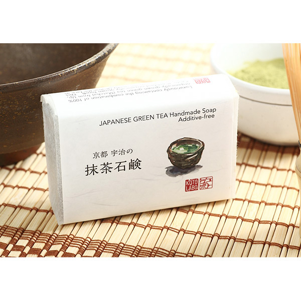 KOTO LABO  洗臉肥皂 抹茶 /美容 保養 京都化妝品