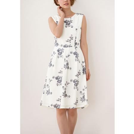 典雅花朵洋裝