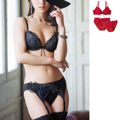 Brassiere & Panties (Set of 2 Panties)