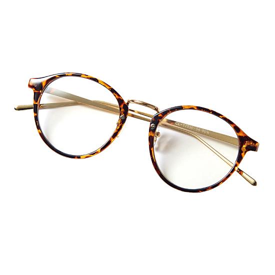 玳瑁紋時尚用眼鏡