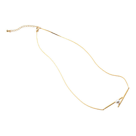 [IMAGE] 單顆珍珠造型項鍊/ 2018年春季新商品, 女裝精品
