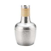 Tinware Sake Bottle,  Kisaragi