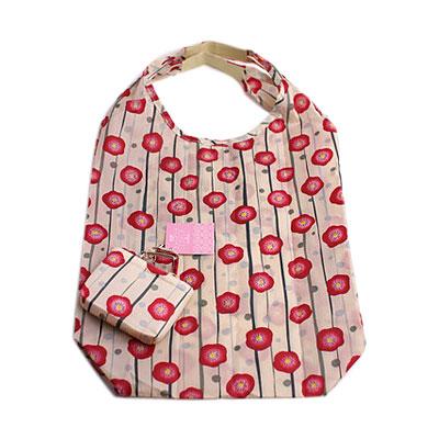 KUROCHIKU 和風環保購物袋 花筐 (梅)