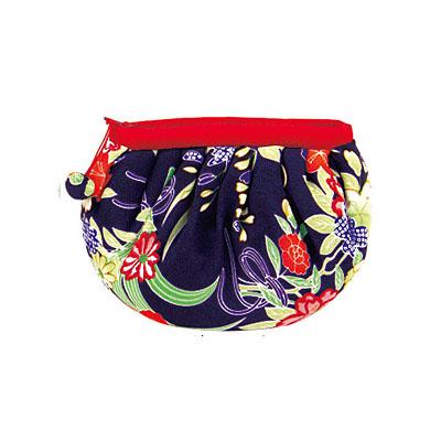 KUROCHIKU 輕柔小物[化妝包] 菊牡丹紫