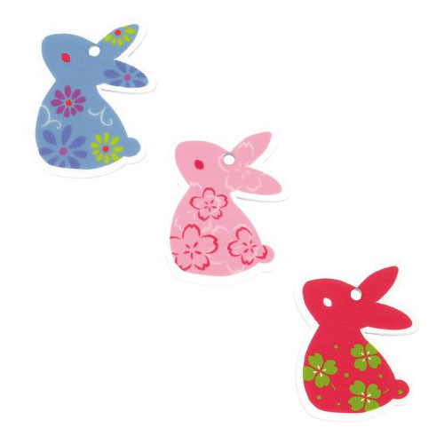 KUROCHIKU 和風圖案修甲棒 兔子