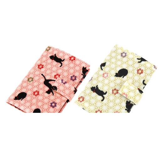KUROCHIKU 卡片收納夾●夢想彩色系列包包貓