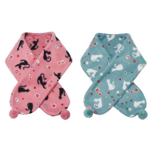 KUROCHIKU 圍巾●貓&糖果
