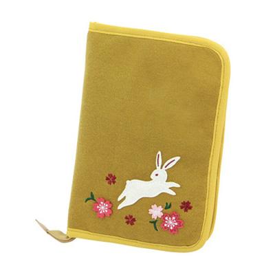 KUROCHIKU 和風系列 多功能收納包 兔子