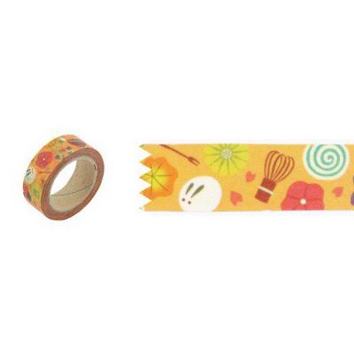 和風圖案紙膠帶 和菓子