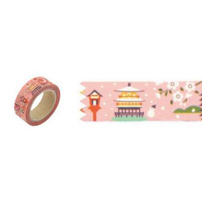 和風圖案紙膠帶 京都風景