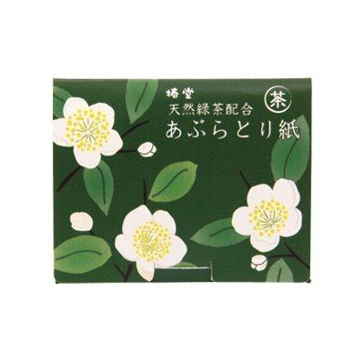 吸油面紙 含綠茶 茶花