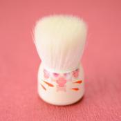 Hiroshima Prefecture,Kumano Fude,Makeup Brush [Mizuho Brush] Large Face Washing Brush,Goldfish[W004]