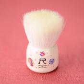 Hiroshima Prefecture, Kumano Fude, Makeup Brush [Mizuho Brush] Large Face Washing Brush,Komari[W005]
