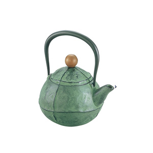 Nambu Ironware Iron Kettle Green
