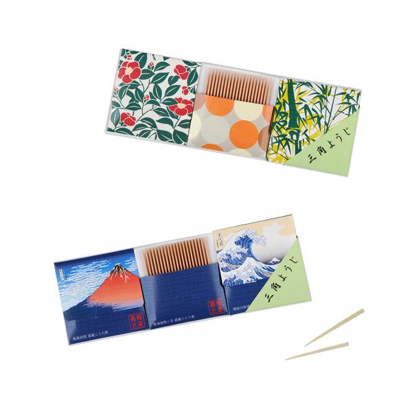大阪府 三角牙籤小紋圖樣 3個組 x 3