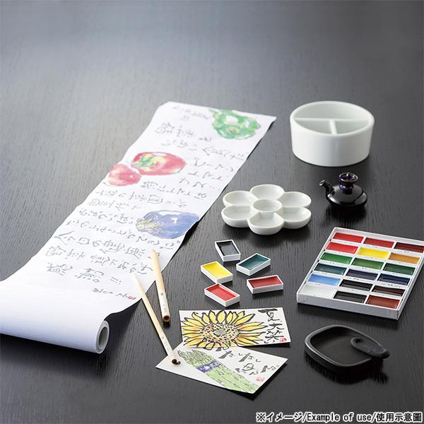 [彩色颜料组合] 手绘信组合