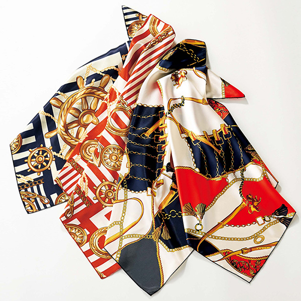 配色氣質領巾