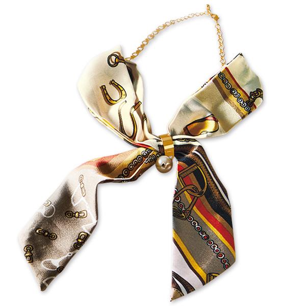 领巾造型项链