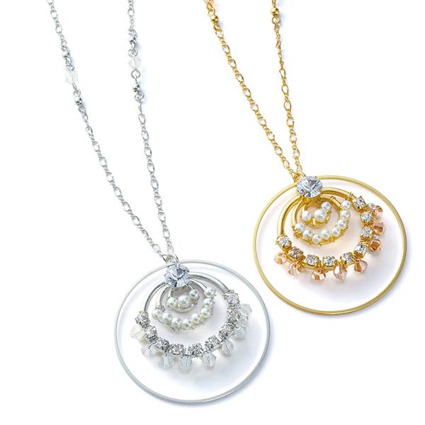 [RyuRyu]多圓環裝飾項鍊/ 2018年春季新商品, 女裝精品