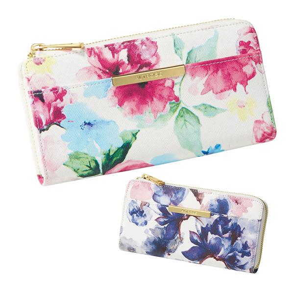 花朵长夹钱包
