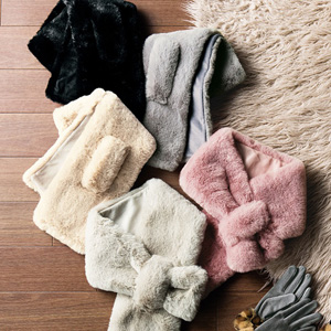 [GeeRA] Fluffy Faux Fur Tippet / New Arrival Autumn/Winter 2019, Ladies