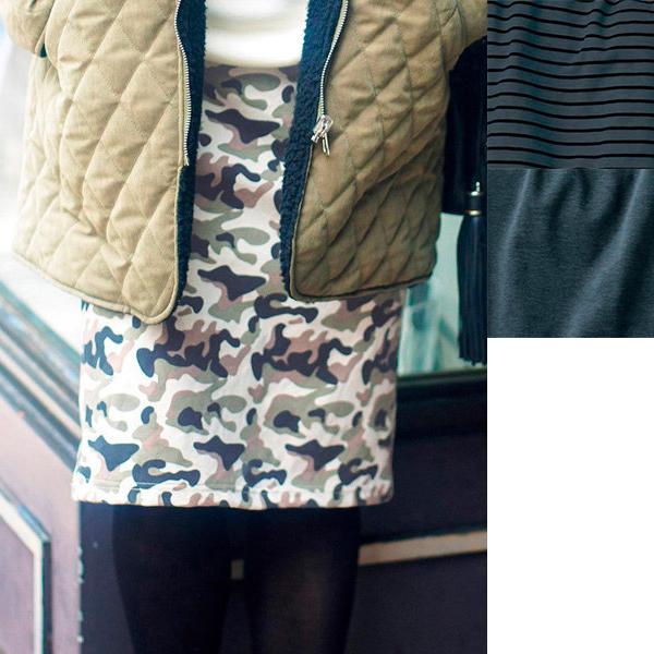[RyuRyu] 內置保暖打底褲緊身裙 /SALE
