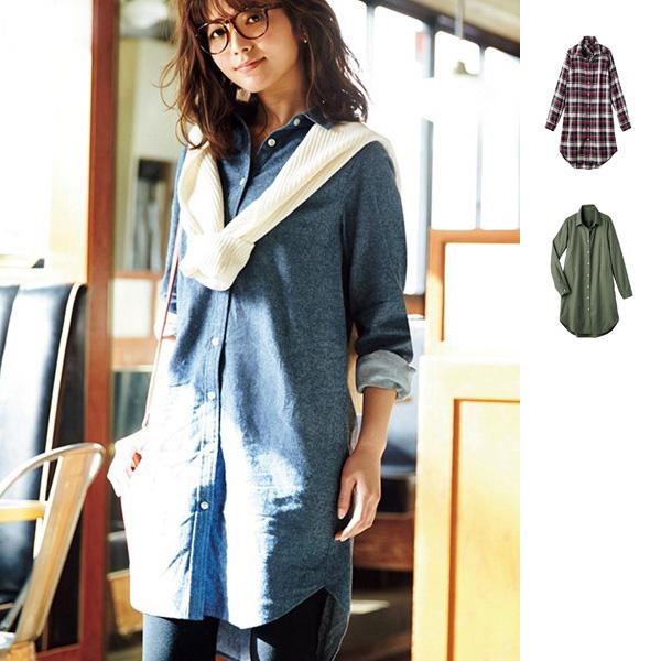 [RyuRyu] 率性寬版剪裁襯衫連身裙/SALE