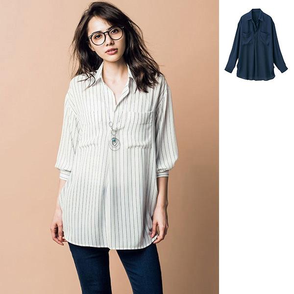[RyuRyu] 率性風格舒適襯衫/SALE