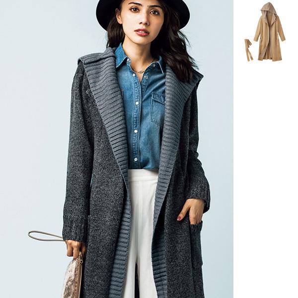 [RyuRyu] 假兩件式開襟外套/SALE