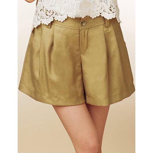 [RyuRyu]褶飾設計褲裙 /SALE