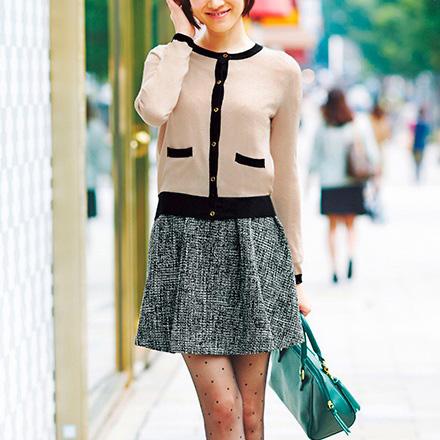 [RyuRyu] 異素材拼接開襟衫&斜紋織拼接連衣裙/SALE