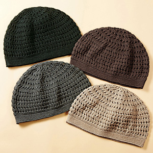 Made in Japan 100% Silk Knitted Hat Single Item