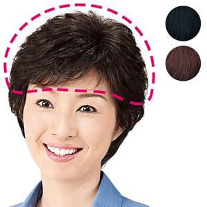 100% Human Hair - Hair Piece Short