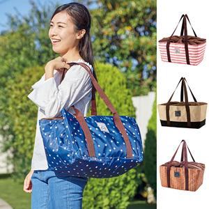 [Belluna] Cold Insulation Shopping Basket Tote Bag