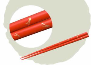 Wajima-Nuri Chopsticks, Pine [21.5cm]
