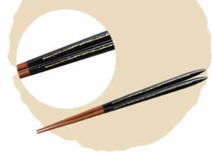 Shell/Mother-of-Pearl Chopsticks, Starry Night [23cm]