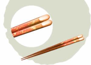 Ikigara Chopsticks, Evening Sun [20.5cm]